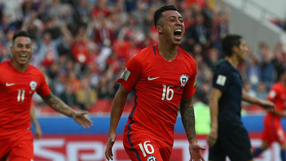 Germany and Chile Advance to Confederations Cup Semifinals