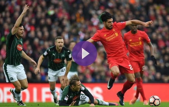 Fa Cup Liverpool 0 0 Plymouth Argyle