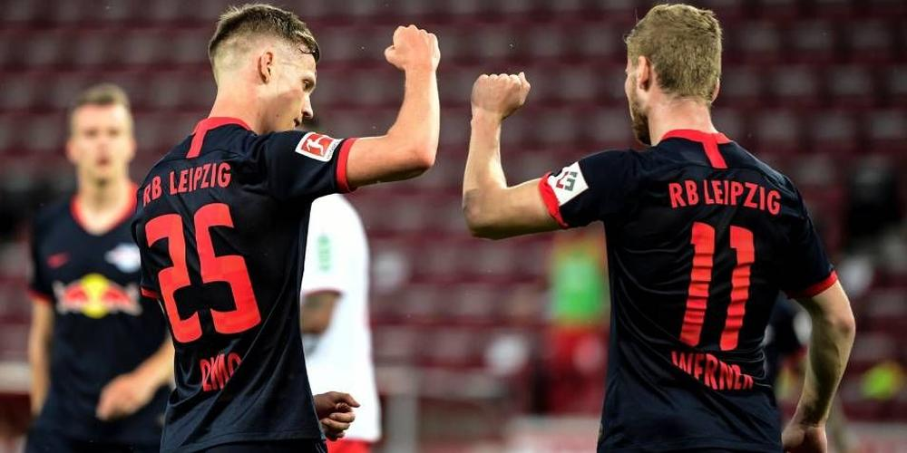 Cologne 2-4 RB Leipzig: Werner on target in return to winning ways