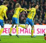 Inspired Ibrahimovic seals qualification for Sweden