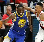 Warriors on verge of NBA Finals after trumping Trail Blazers