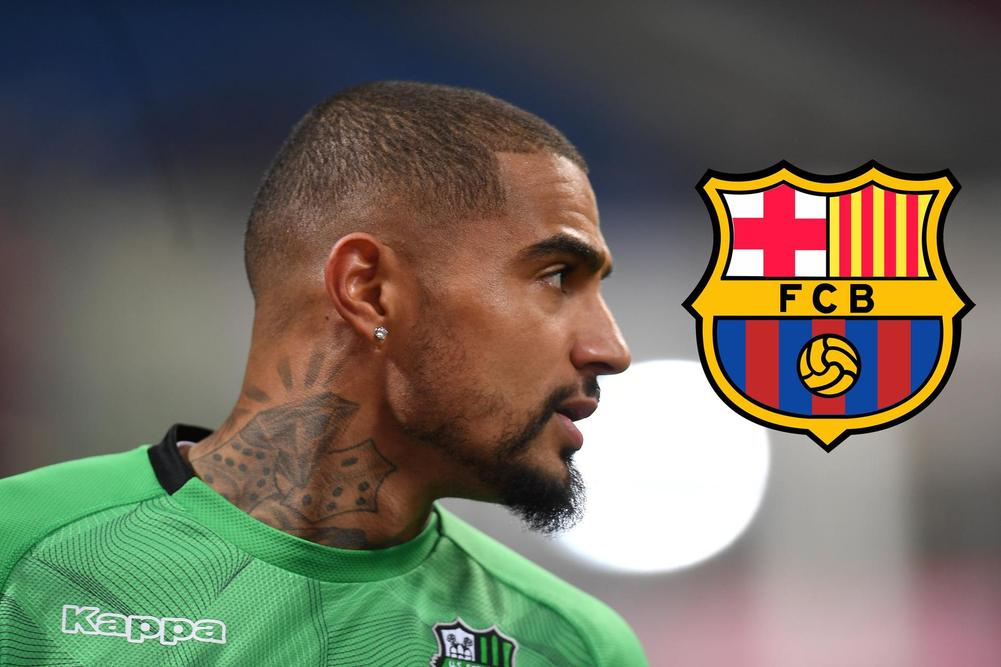 Kevin-Prince Boateng is reportedly set to join Barcelona on a six-month loan from Sassuolo