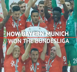 How the title was won - Bayern in seventh heaven
