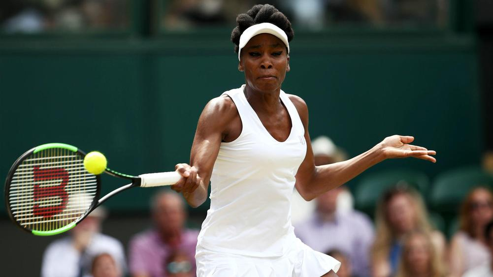Venus Williams into Wimbledon semis with impressive win over Jelena Ostapenko