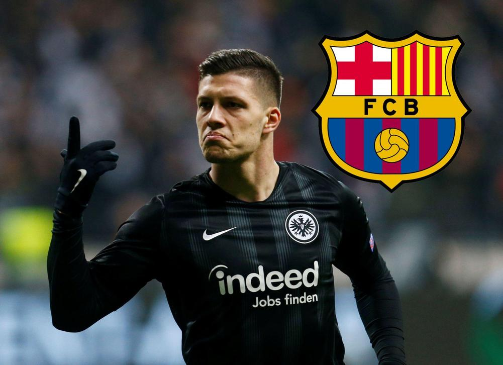 Luka Jovic 'Not Interested' In Barcelona, Claims Father