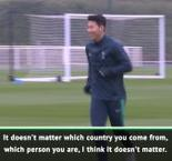 Son and Pochettino call for unity against racism