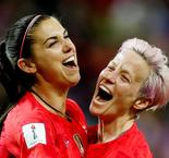 Morgan Defends USWNT Goal Celebrations