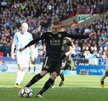 Spot-on Vardy earns a point for Leicester