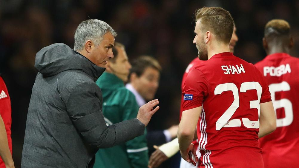 Young on Shaw v Jose: 'Man United is a tough place'