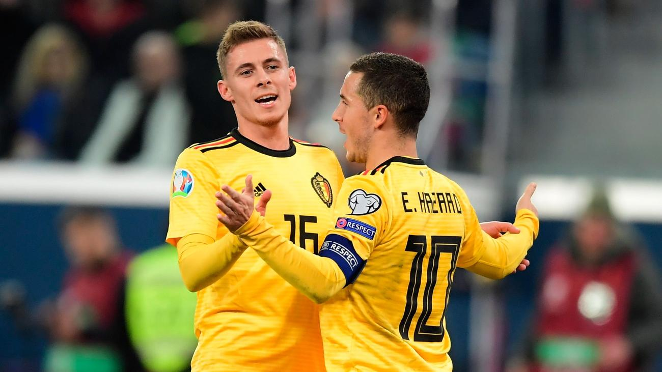 Thorgan Hazard criticises packed schedule and provides update on ...
