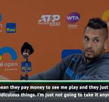 Kyrgios reveals what he told Miami Open hecklers