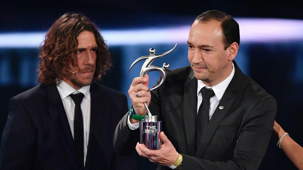 Image result for Atletico Nacional PIC TO receive fifa award of the year 2016