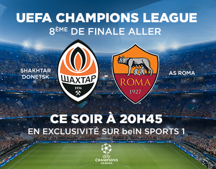 Shakhtar - Roma sur beIN SPORTS