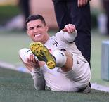Ronaldo Returns To Training After Ankle Injury