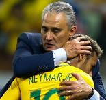 Brazil Boss Tite Promises Not to Risk Neymar