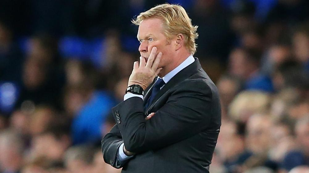 Koeman sweating on defensive duo ahead of Everton's match with Burnley