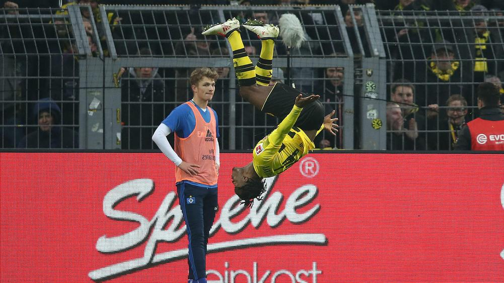 Michy Batshuayi scores again as Borussia Dortmund win