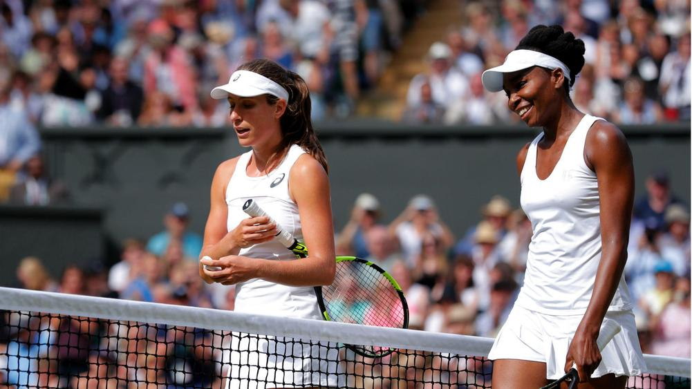 Venus Williams reaches Wimbledon final