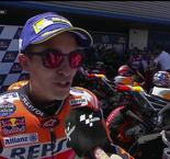Marquez Within Striking Distance of Title Lead