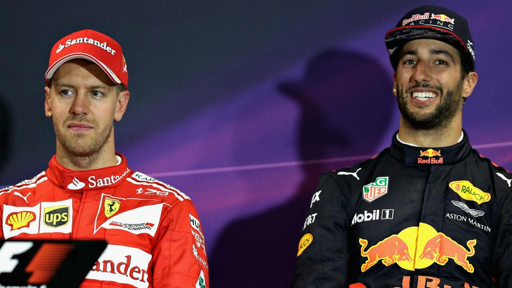 The gloves are off between Hamilton and Vettel