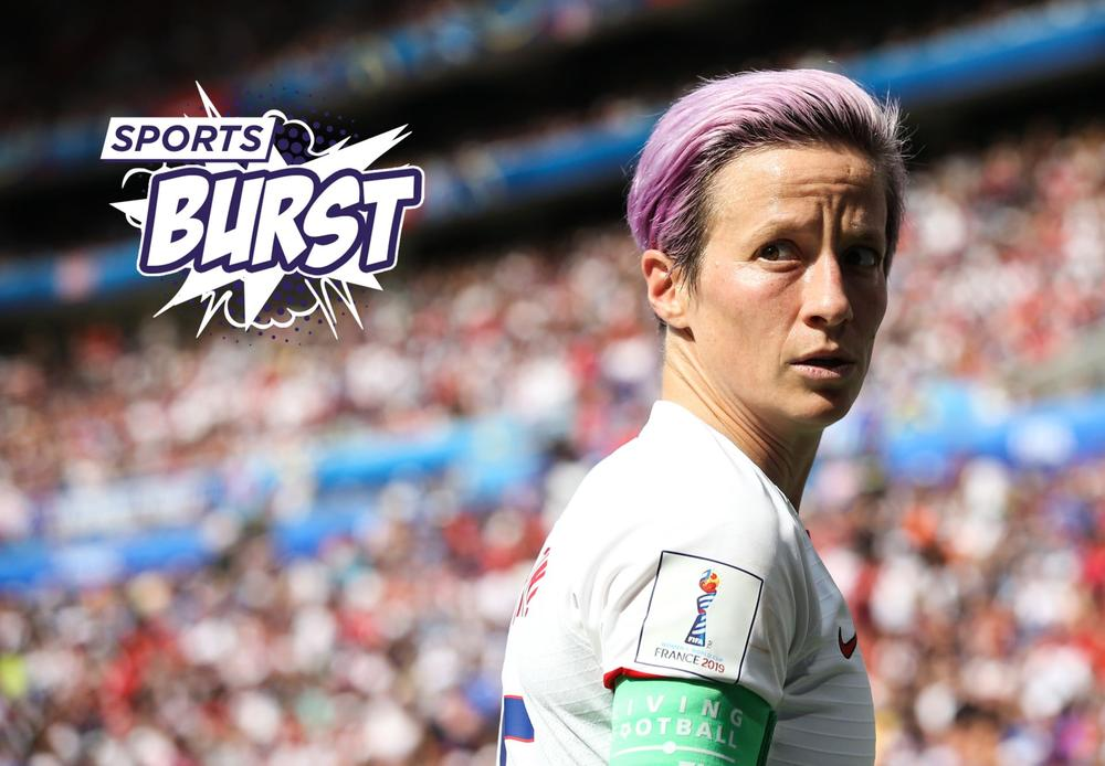 Megan Rapinoe wins case for Ballon d'Or but Messi mayhem and Salah's slip-up sees wideopen field for men| Sports Burst, July 8, 2019 | beIN SPORTS USA