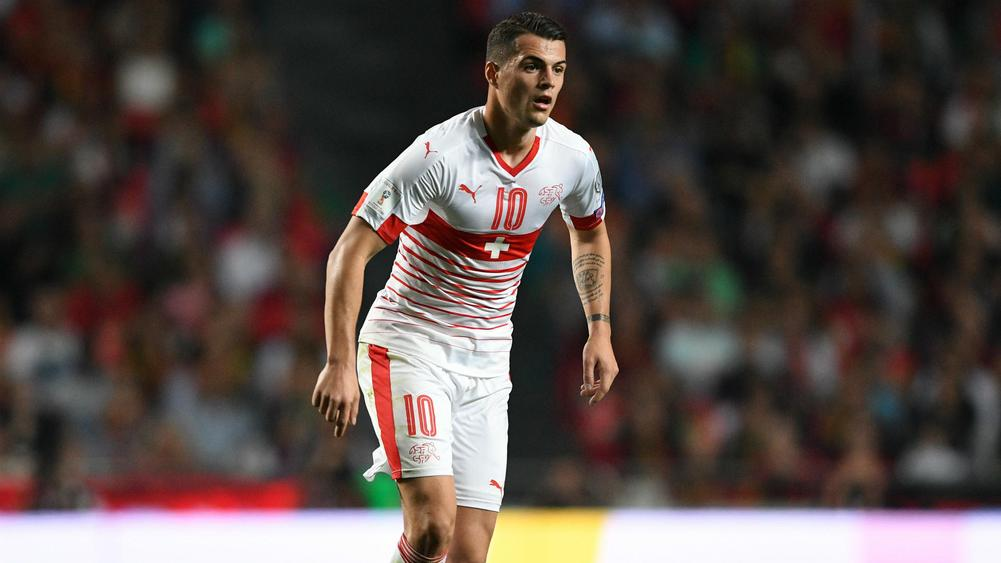 6af45f740dd Xhaka in Switzerland s World Cup squad after injury scare