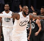LeBron drafts Durant, Davis for All-Star Game