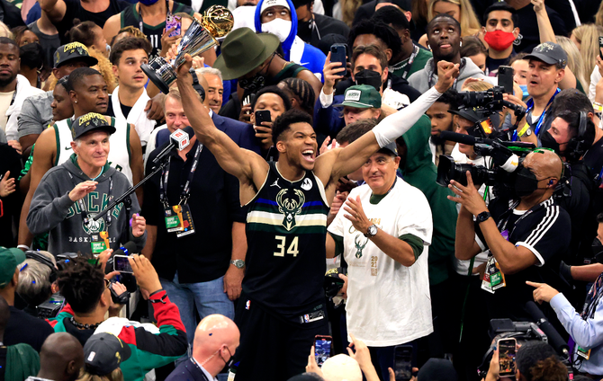 NBA Finals 2021: Giannis delighted to deliver for Bucks ...