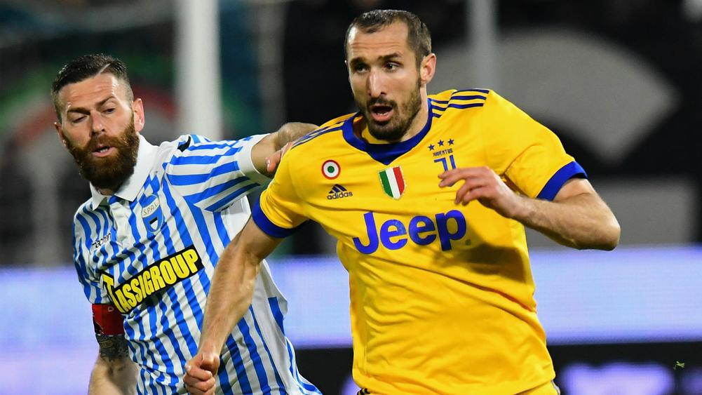 Worldwide  friendlies: Defender Giorgio Chiellini out of Italy matches with thigh injury