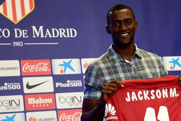 5. Jackson Martinez (35 million euros)