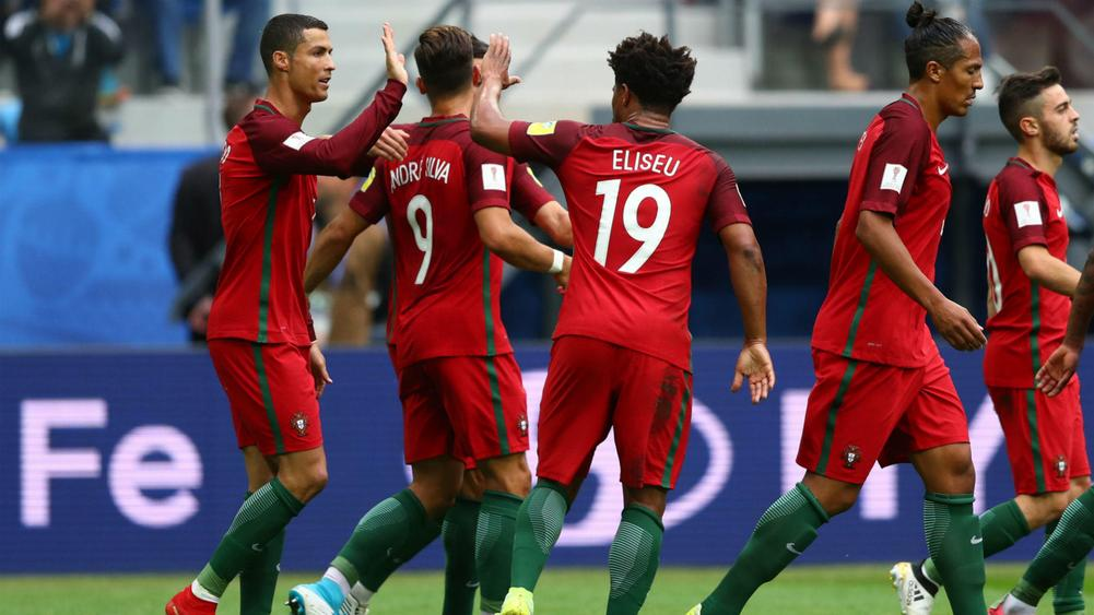 Ronaldo helps Portugal into Semis, Russia out
