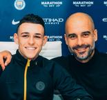 Foden signs on at Manchester City until 2024