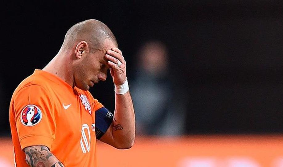 Netherlands will not be in the 2016 Euro after being eliminated by Czech Rep.
