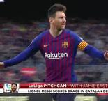PitchCam: Messi Delivers Decisive Brace In Catalan Derby