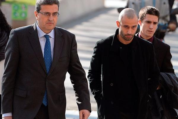 Mascherano confirms tax agreement and will avoid prison sentence