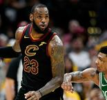 LeBron James ramène Cleveland à la hauteur de Boston