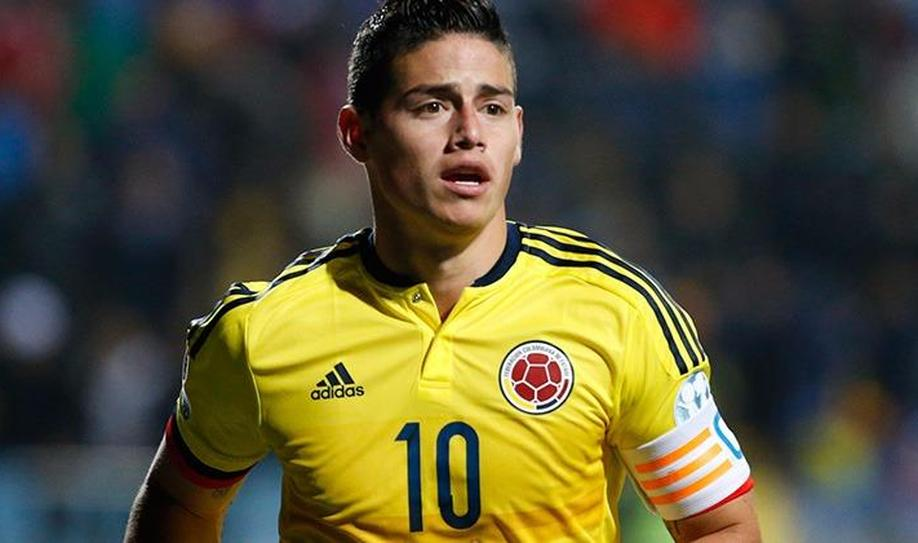 Real Madrid's James Rodriguez hit by a thigh tear