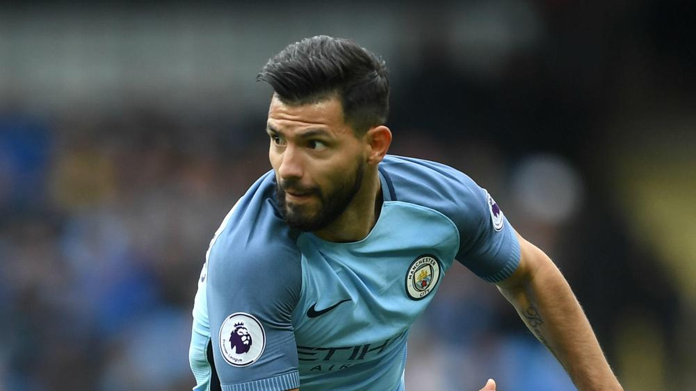Sergio Aguero insists that he is happy at Manchester City
