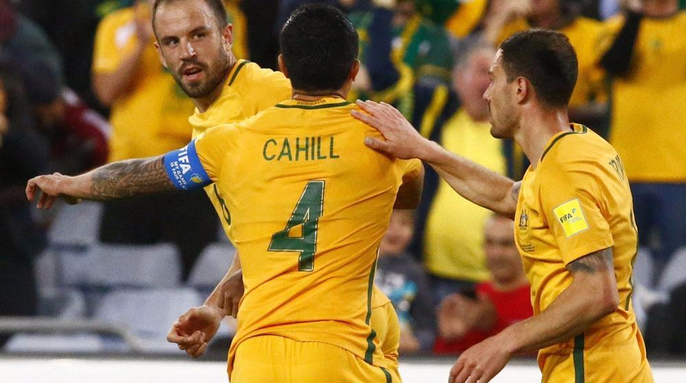 Socceroos thrash Syria at Sydney's ANZ Stadium in World Cup play-off