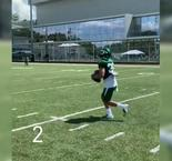 Holmes shows off catching skills for Jets