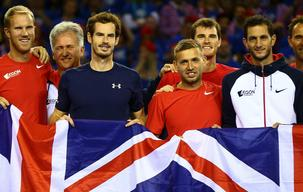Britain favourites to end Davis Cup drought