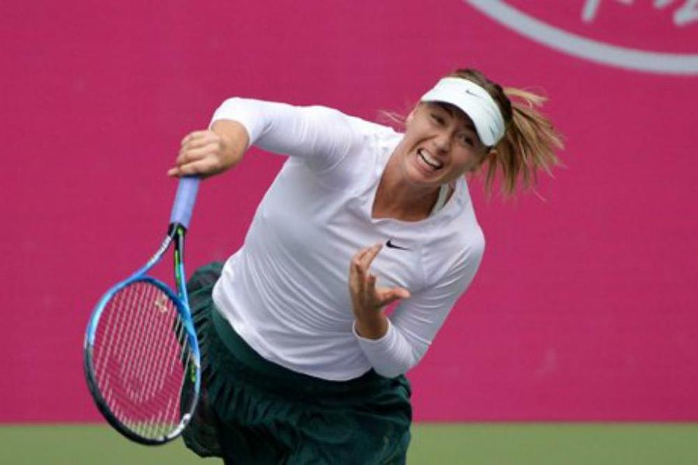 Tianjin: Sharapova imperturbable
