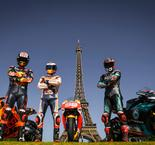 Quartararo, Zarco and Lorenzo Make Paris Pit Stop