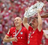 Robben And Ribery Score As Bayern Clinch Title