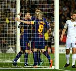 Barcelona 4 Roma 1: Suarez off the mark after own goals tee up win
