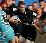 Ruthless Saracens win on Farrell's special day