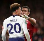 Police and Arsenal investigating Dele Alli bottle incident