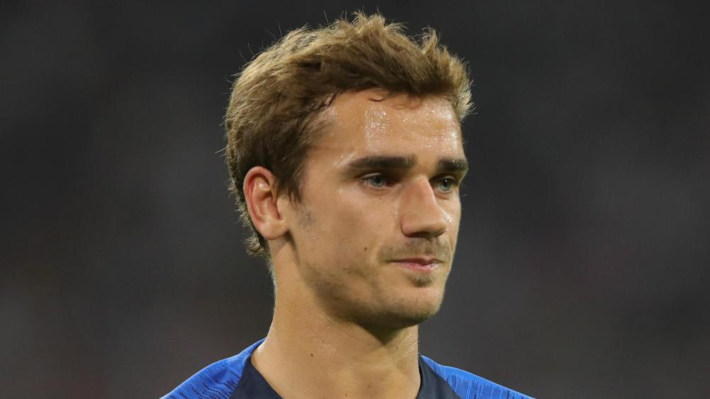 'I already sit where Messi and Cristiano are' - Griezmann