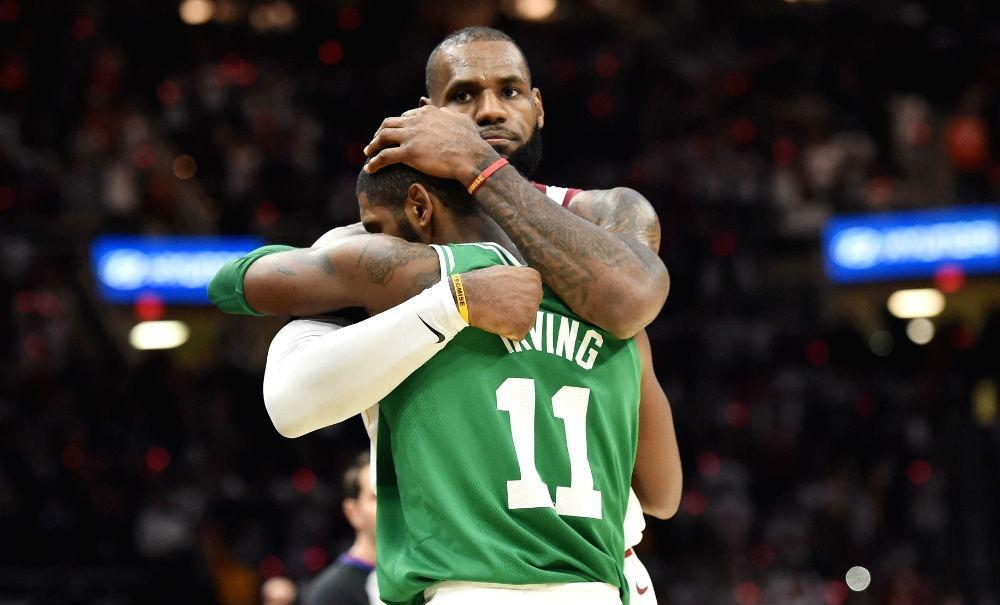 LeBron James - Kyrie Irving
