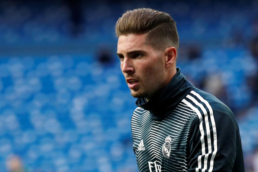 Luca Zidane Starts For Real Madrid Against Huesca